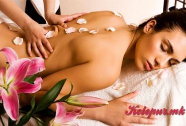 56% попуст на РЕЛАКС МАСАЖА на ЦЕЛО ТЕЛО во салонот за масажа ЗЛАТНИ РАЦЕ во вредност од 800ден. за само 349ден.