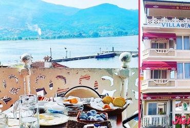 """Уживајте во убавините на Охрид! 40% попуст на НОЌЕВАЊЕ ЗА ДВАЈЦА СО ПОЈАДОК ВО """"VILLA TABANA"""" во вредност од 2480ден. за само 1500ден."""