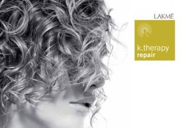 """Летна грижа за вашата коса! 50% попуст на третман за сува и оштетена коса """"Lakmé  K. Therapy repair"""" во фризерско студио Елит Мари во вредност од 600ден. за само 299ден."""