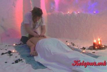 """Совршена комбинација! 60% попуст на  30 минути медицинска масажа на грб во солена соба """"VIA SOL""""  во вредност од 500ден. за само 199ден."""