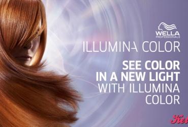 47% попуст на фарбање со ILLUMINA COLOR ФАРБИ ОД WELLA PROFESSIONALS во фризерско студио ЕЛИТ МАРИ во вредност од 1500ден. за само 799ден.