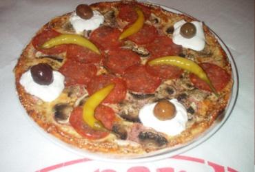 50% попуст во Leonardo Pizza на специјалитетот на куќата ГОЛЕМА ПИЦА ЛЕОНАРДО во вредност од 270ден за само 135ден.